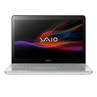 "Sony VAIO SVF15A1M2E 1.8GHz i5-3337U 15.5"" 1920 x 1080Pixel Touch screen Argento Computer portatile"