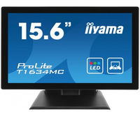 "iiyama T1634MC 15.6"" 1366 x 768Pixel Nero monitor touch screen"