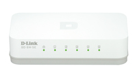 D-Link GO-SW-5E No gestito Fast Ethernet (10/100) Bianco switch di rete