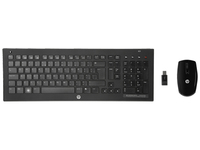 HP C7000 RF Wireless Norvegese Nero tastiera