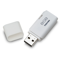 Toshiba 8GB Transmemory USB 2.0 8GB USB 2.0 Tipo-A Bianco unità flash USB