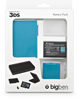 Bigben Interactive 3DS Battery Pack 1300mAh 3.7V batteria ricaricabile