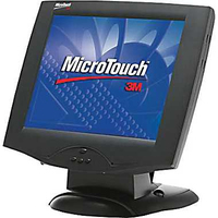 "3M M1700SS 17"" Da tavolo Nero monitor touch screen"