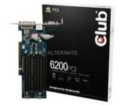 CLUB3D 6200 PCI 256MB GeForce 6200 GDDR2