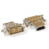 Intronics HDMI A F - DVI-D Single link M HDMI A F DVI-D (18+1) M cavo di interfaccia e adattatore
