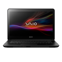 "Sony VAIO SVF1521D2E 1.8GHz i3-3217U 15.5"" 1366 x 768Pixel Touch screen Nero Computer portatile"
