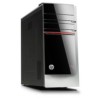 HP ENVY 700-030ez 3.4GHz i7-4770 Scrivania Nero, Argento PC