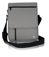 "V7 Premium Messenger per Tablet PC fino a 10,1"" e iPad - grigio"