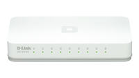 D-Link GO-SW-8E/E No gestito Fast Ethernet (10/100) Bianco switch di rete