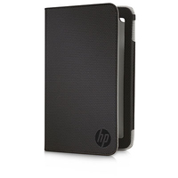 "HP E2X68AA 7"" Custodia a libro Nero custodia per tablet"
