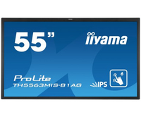 "iiyama TH5563MIS-B1AG Digital signage flat panel 55"" LED Full HD Nero signage display"