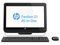 "HP Pavilion 20-a225in 3GHz G2030 20"" 1600 x 900Pixel Nero PC All-in-one"