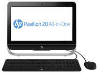 "HP Pavilion 20-a225d 3GHz G2030 20"" 1600 x 900Pixel Nero PC All-in-one"