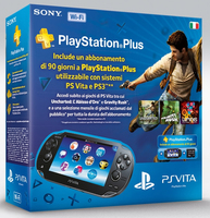 "Sony PS Vita WiFi: Bundle 5"" Touch screen Wi-Fi Nero console da gioco portatile"