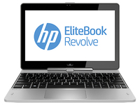 "HP EliteBook Revolve 810 G1 2.1GHz i7-3687U 11.6"" 1366 x 768Pixel Touch screen 3G Argento Ibrido (2 in 1)"