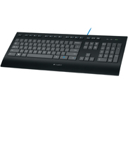 Logitech K290 USB QWERTY US International Nero tastiera