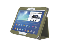 Kensington Custodia morbida Folio ComercioT con supporto per Galaxy Tab® 3 10.1 - Verde Oliva
