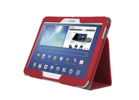 Kensington Custodia morbida Folio ComercioT con supporto per Galaxy Tab® 3 10.1 - Rossa