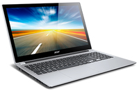"Acer Aspire 571PG-33224G50Mass 1.9GHz i3-3227U 15.6"" 1366 x 768Pixel Touch screen Argento Computer portatile"