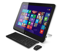 "HP ENVY Rove 20-k014us 1.7GHz i3-4010U 20"" 1600 x 900Pixel Touch screen Nero, Argento PC All-in-one"
