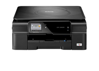 Brother DCP-J552DW 6000 x 1200DPI Ad inchiostro A4 33ppm Wi-Fi Nero multifunzione