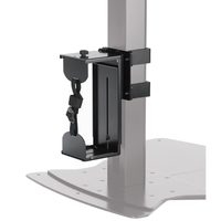 Chief QMP1C Desk-mounted CPU holder Nero supporto per CPU