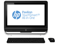 "HP Pavilion TouchSmart 23-f203es 3.4GHz i3-3240 23"" 1920 x 1080Pixel Touch screen Nero PC All-in-one"
