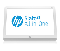 "HP Slate 21-k100 1.6GHz T40S 21.5"" 1920 x 1080Pixel Touch screen Bianco PC All-in-one"
