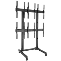 "Chief LVM3X2UP 46"" Portatile Nero base da pavimento per tv a schermo piatto"
