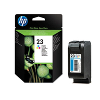 HP 23 Large Tri-color Inkjet Print Cartridge cartuccia d