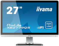 "iiyama ProLite XB2779QS-S1 27"" Full HD IPS Nero, Argento monitor piatto per PC"