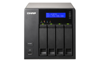 QNAP TS-419P II + 4x ST4000VN000 NAS Torre Collegamento ethernet LAN Nero