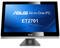 "ASUS ET ET2701INTI-B025 3.1GHz i7-3770S 27"" 1920 x 1080Pixel Touch screen Nero PC All-in-one"