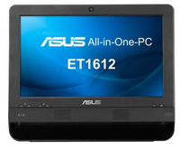 "ASUS ET 1612 1.1GHz 847 15.6"" 1366 x 768Pixel Touch screen Nero PC All-in-one"