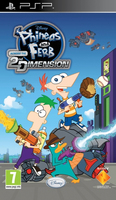 Sony Phineas and Ferb: Across the 2nd Dimension, PSP PlayStation Portatile (PSP) ITA videogioco