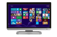 "Toshiba Qosmio PX30t-A-12D 2.5GHz i3-3120M 23"" 1920 x 1080Pixel Touch screen Argento, Bianco PC All-in-one"