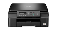 Brother DCP-J132W 6000 x 1200DPI Ad inchiostro A4 27ppm Wi-Fi Nero multifunzione