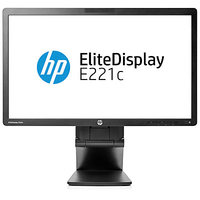 "HP E221c 21.5"" Full HD IPS Opaco Nero monitor piatto per PC"