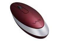Sony VAIO® Bluetooth® Laser Mouse, Red Bluetooth Laser Rosso mouse