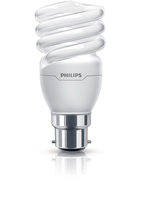 Philips Tornado 8727900925807 15W B22 A Bianco caldo lampada fluorescente energy-saving lamp