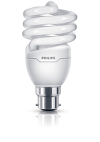 Philips Tornado 8710163405124 20W B22 A Bianco caldo lampada fluorescente energy-saving lamp