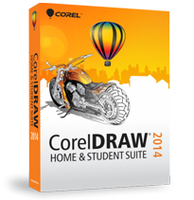 Corel CorelDRAW Home & Student Suite 2014, EN
