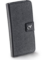 Cellularline Vision Slim Custodia a libro Nero