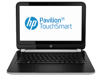 "HP Pavilion TouchSmart 11-e002so 1GHz A4-1250 11.6"" 1366 x 768Pixel Touch screen Nero, Argento Computer portatile"