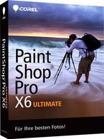 Corel PaintShop Pro X6 Ultimate, DE