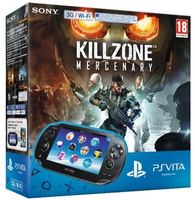 "Sony PlayStation Vita 5"" Touch screen Wi-Fi Nero console da gioco portatile"