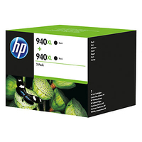 HP 940XL 2-pack Black Nero cartuccia d