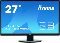 "iiyama ProLite X2783HSU 27"" Full HD AMVA+ Opaco Nero monitor piatto per PC"