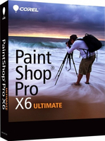 Corel PaintShop Pro X6 Ultimate, NL/FR/IT
