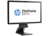 "HP EliteDisplay E221c 21.5"" Full HD IPS Nero monitor piatto per PC"